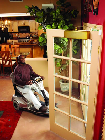 By Integrating Automatic Doors With Wireless Control You Will Immediately Negate All The Hassles Your Disabled Loved Ones Have To Go Through...