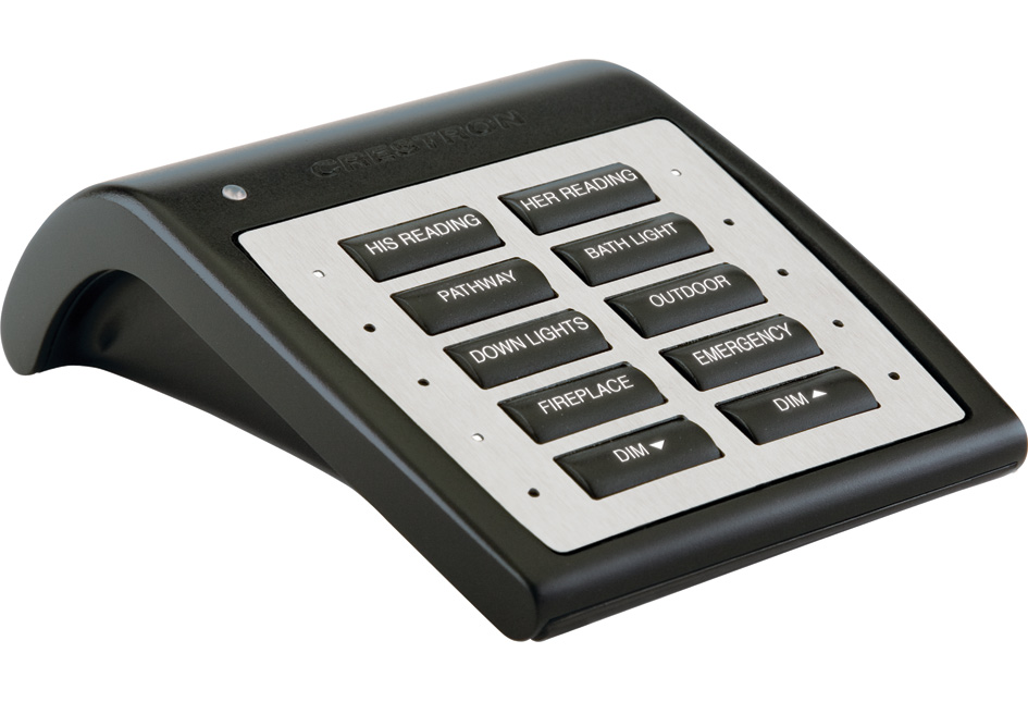 Crestron Wireless Tabletop Keypad with infiNET EX