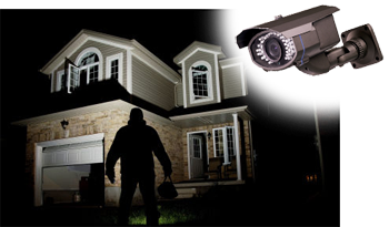 Secure The Perimeter Area Of Your Home By Installing Alarms & CCTV Cameras...