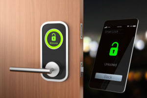 Lock/Unlock Your Doors Just By Swiping Your Phone...